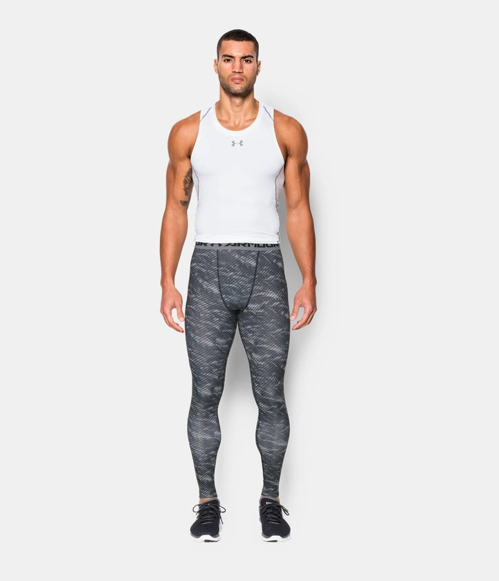 ARMOUR HG LEGGING PRINTED Kompresné legíny