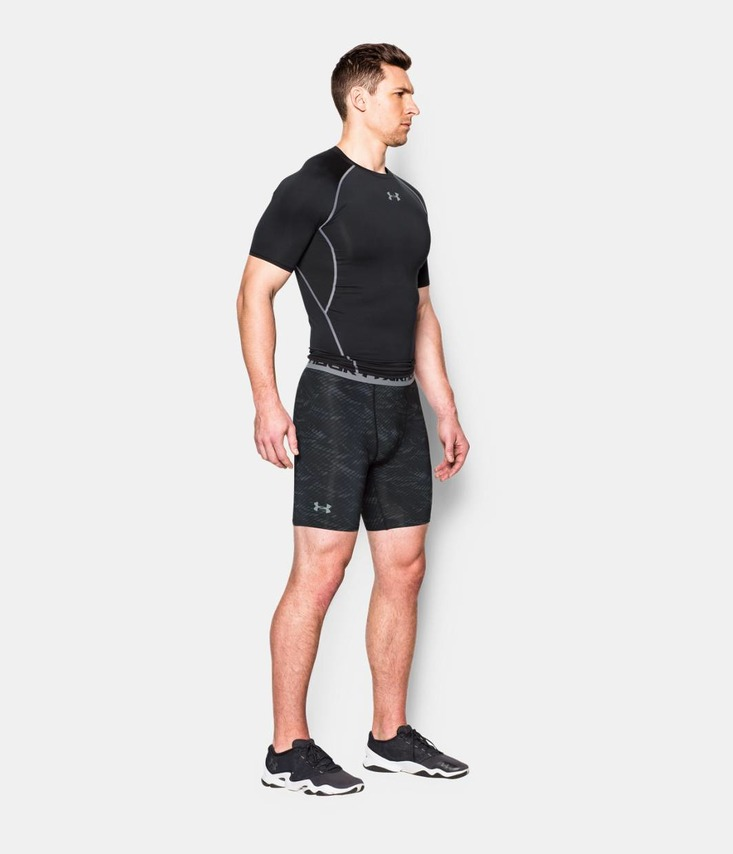 ARMOUR HG PRINTED COMP SHORT Šortky
