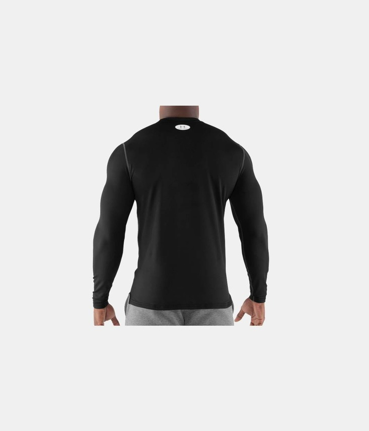 COLDGEAR® FITTED LONG SLEEVE CREW Tričko
