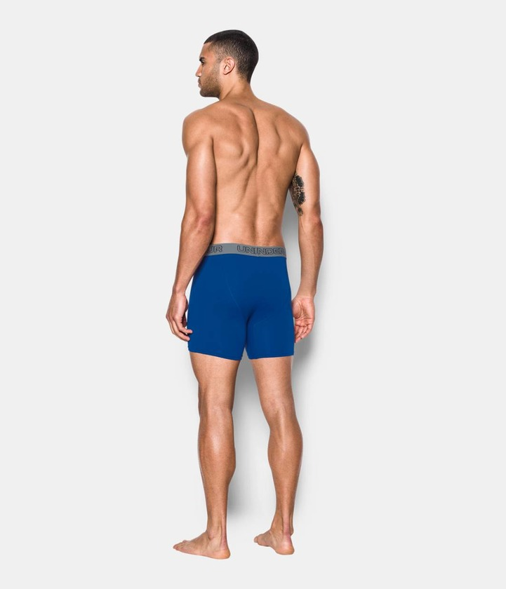 Cotton Stretch 6'' 3 Pack Boxerky