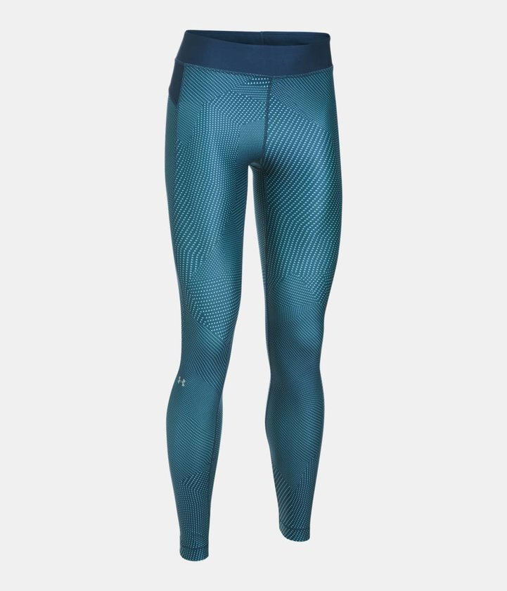 UA HG Armour Printed Legging Kompresné legíny